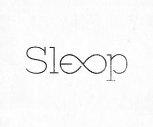 sleep, forever, and infinity image