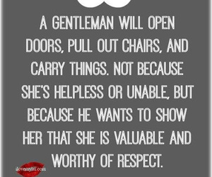 quote, gentleman, and Relationship image