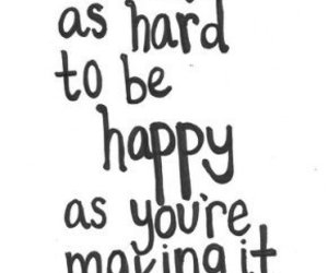 happy, text, and quote image