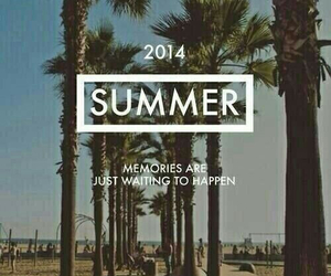 summer, 2014, and memories image