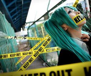 cosplay, girl, and hatsune miku image