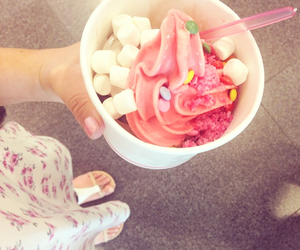 candy, icecream, and pink image
