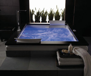 luxury, bath, and bathroom image