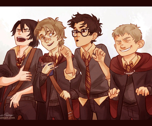 harry potter, sirius black, and marauders image