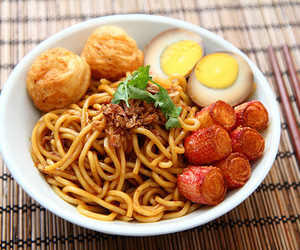Chicken, healthy, and noodles image