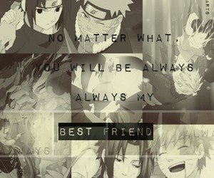 Best, naruto, and friend image
