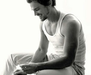 matt bomer and smile image