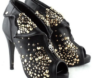 shoes, Alexander McQueen, and rock image