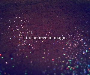 believe, fairy dust, and happiness image