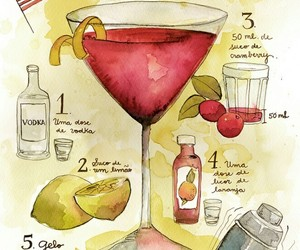 Carrie Bradshaw, cosmopolitan, and drink image