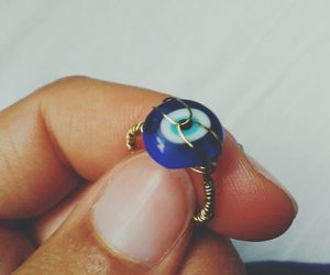 blue, diy, and jewelry image