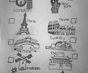 bucket, cities, and list image