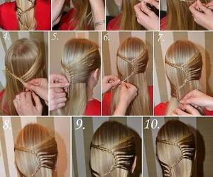 braid, lace braid, and party hairstyle image