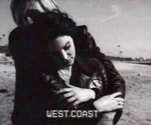 lana del rey, west coast, and black and white image