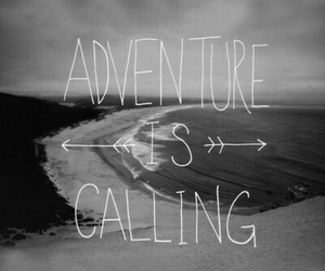 adventure, beach, and call image