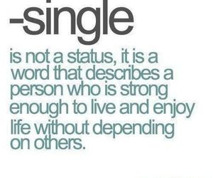 single, quotes, and strong image
