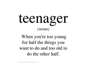 teenager and true image