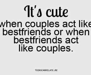 couple, cute, and best friends image