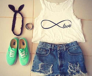 fashion, summer, and tank top image