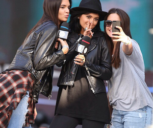 kendall jenner, girl, and kylie jenner image