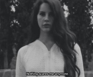 lana del rey, black and white, and summertime sadness image