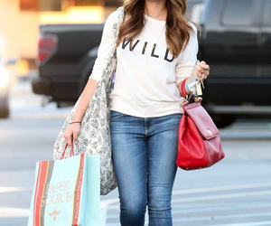 beautiful, girl, and shopping image