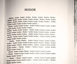funny, game of thrones, and hodor image