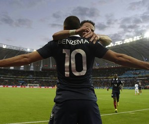 benzema, france, and football image