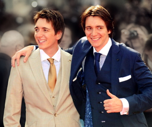 fred and george, harry potter, and hp image
