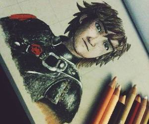 awesome, drawing, and hiccup image