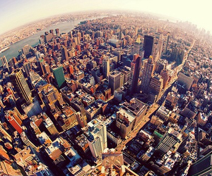 city, new york, and summer image