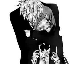 hug, yuki, and manga image