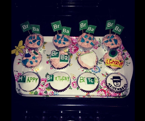 breaking bad, cakes, and cupcakes image