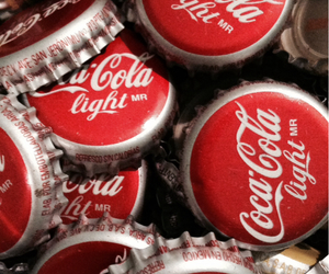 light, photography, and coca cola image