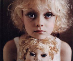 doll, dakota fanning, and eyes image