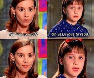 book, matilda, and read image