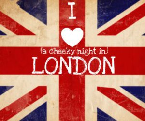 cheeky, london, and love image