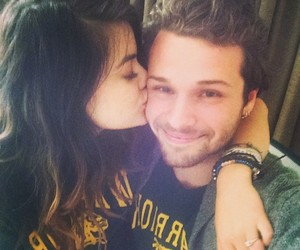 lucy hale and couple image
