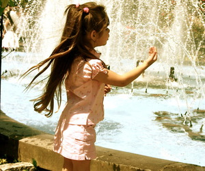 antique, child, and fountain image