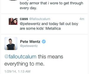 fall out boy, metallica, and patrick stump image