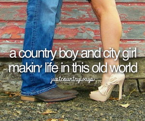 boy, city, and country image