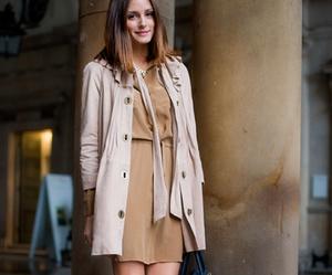 dress, olivia palermo, and heels image