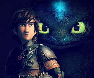 hiccup, how to train your dragon, and dreamworks image
