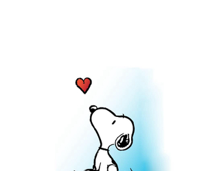 snoopy and love image