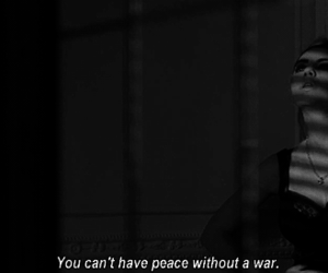 peace and war image