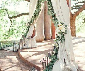 wedding, flowers, and ceremony image