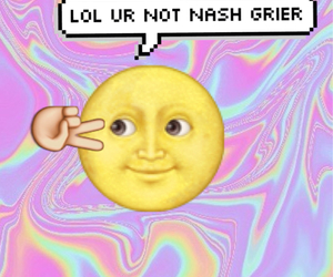 background, moon, and nash grier image