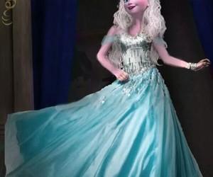 frozen elsa dress image