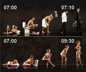 funny, morning, and men image