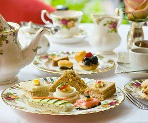 food and tea time image